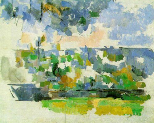"""Paul Cezanne  """"The Garden at les Lauves"""""""
