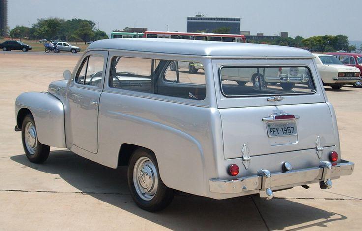 Volvo PV445 (1957) stationcar by Carbrasa, Brazil