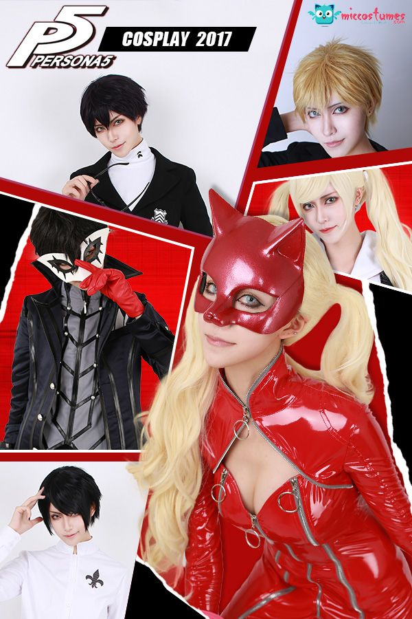 Show me your true form! This is truly an unjust game... Putting on a Persona 5 cosplay, and started to save the world now. Fullset of Persona 5 cosplay costume is available at Miccostumes.com.
