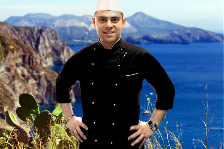 Lo chef Lughero plana dall'Etna a #Vulcano #Sicilia