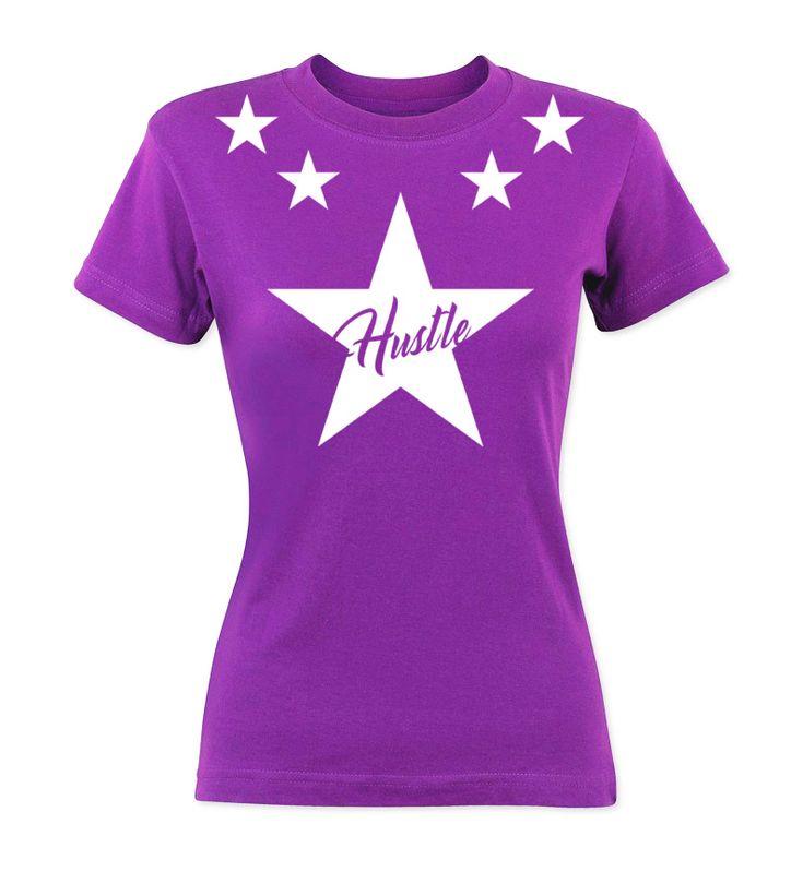 Hustle T-Shirt Pink Ladies