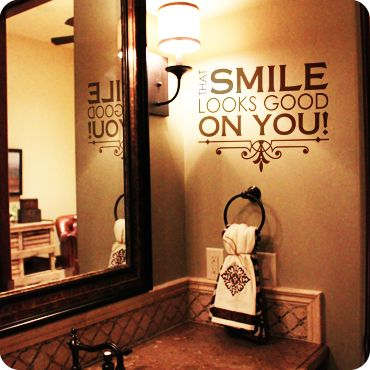 That Smile Looks Good On You Block Version Wall Decal From Wallwritten
