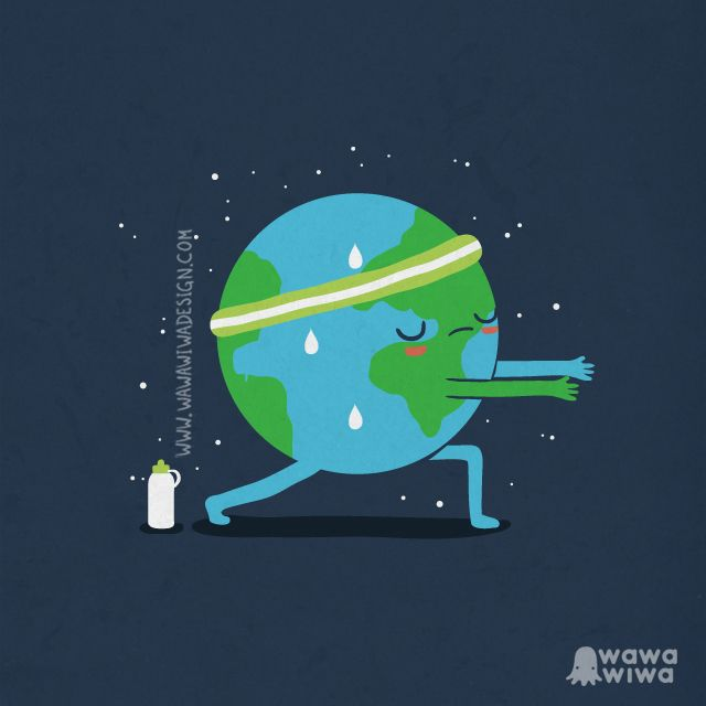 Calentamiento global - Happy drawings :)