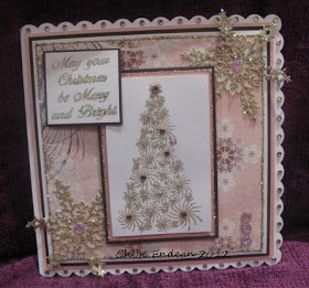 Stamps by Chloe: Pink for Christmas!