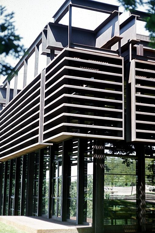 (John) Deere & Company Administration Center Love the louvers