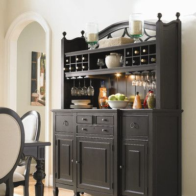 Universal Furniture Summer Hill China Cabinet French Country Diningroom.