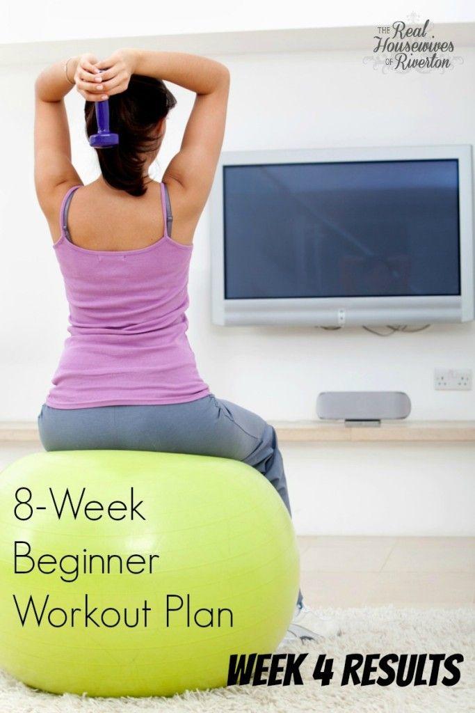 8 week beginner workout challenge - week 4 results - housewivesofriverton.com