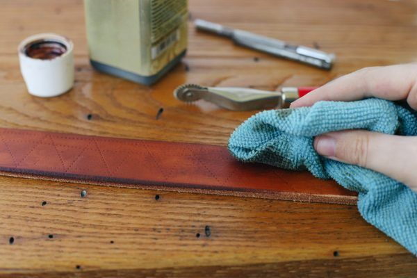 How to Emboss Leather Crafts (with Pictures) | eHow