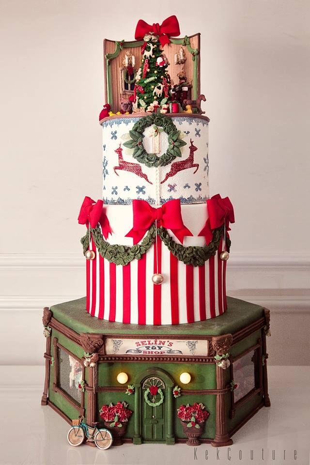 Amazing Christmas story cake