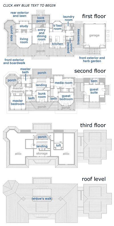 748 Best Floor Plans Images On Pinterest House Floor