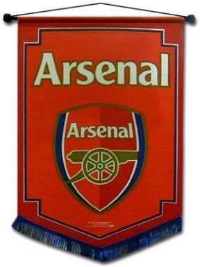 Arsenal FC Authentic EPL Mini Pennant - Great For Car by Arsenal. $6.70. Quality guaranteed. Official Licensed Product. Approx 18cm x 10cm. Brand new with tags. Imported from the UK - Ships from USA. We buy our Arsenal pennants direct from the clubs representatives in the UK. All Arsenal pennants come in official Arsenal packaging with hologram and/or bar codes.
