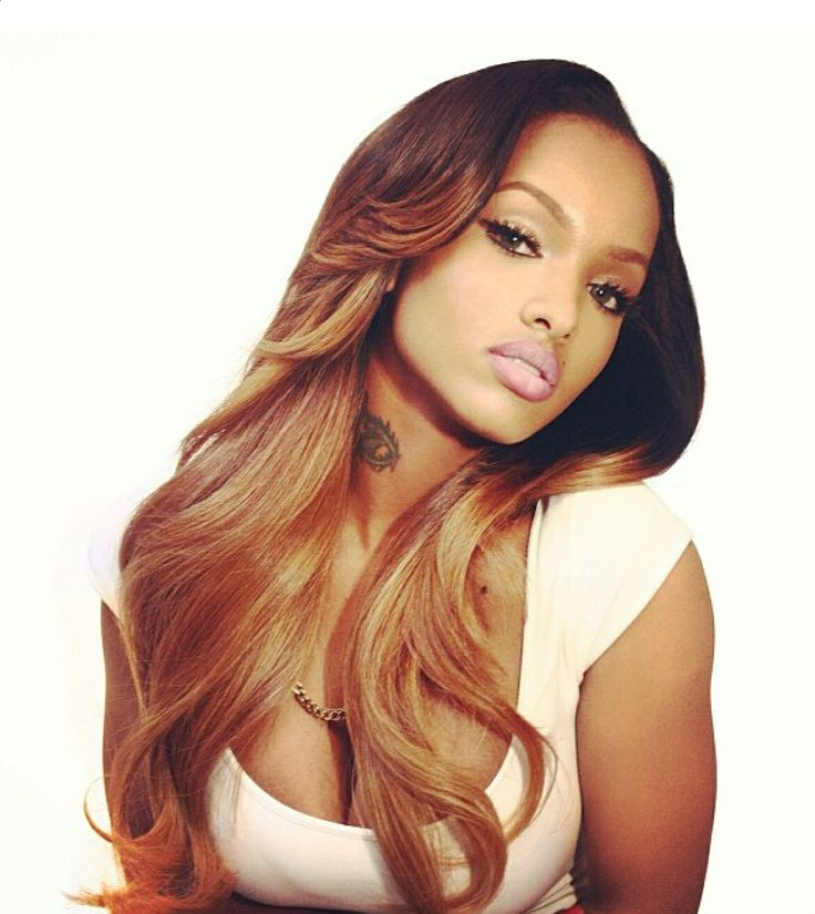 "Get this look easy no dye required try GLAMFUSIONEXT.COM'S EURO BRAZILIAN, MALAYSIAN, & INDIAN REMY SEAMLESS SKINWEFT TAPEIN HAIR EXTENSIONS ON SALE NOW...200GRAMS - 300 GRAMS 20"",22"",24"", 26"" $200-$350"