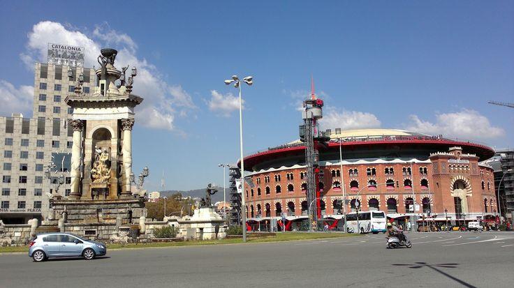 Les Arenes ( antigua plaza de toros, hoy centro comercial ) - Barcelona