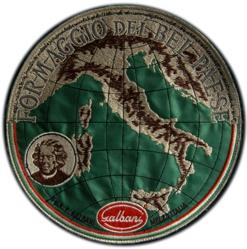 Maurizio Cattelan, Il Bel Paese, feltro ricamato, d 20,5 53/100