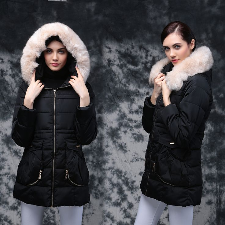 2016 Winter Jackets For Women Down Cotton Parka Women's Winter Jacket Coat Female Hooded Jacket With Pocket  Winter Jacket Women