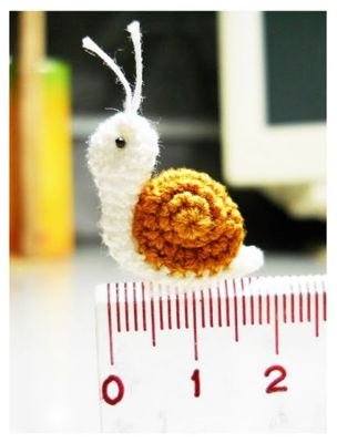 20+ Amazing Examples of Teeny Tiny #Crochet and Amigurumi