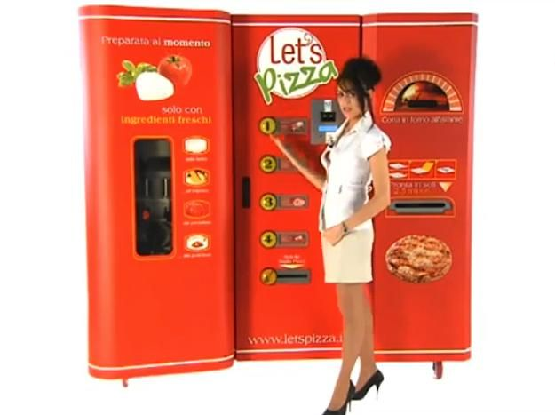 Pizza vending machine, sure, why not?