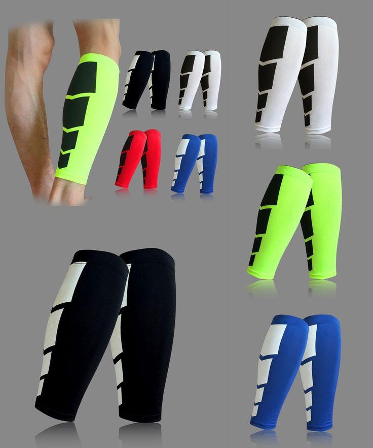 [Visit to Buy] 1pcs Calf Compression Sleeve Socks Men Women Sports Golf Basketball Running Baseball Football Fitness Leg Compression Sleeves #Advertisement