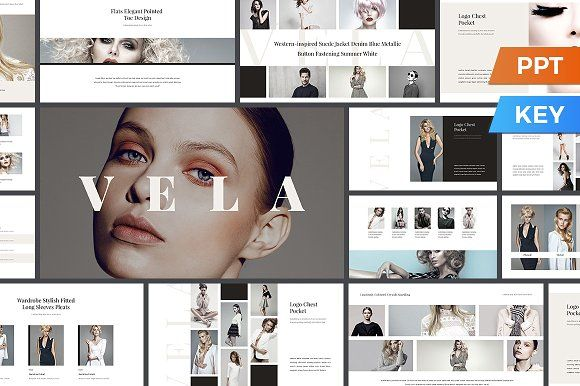 Vela Presentation Template by SlideStation on @creativemarket