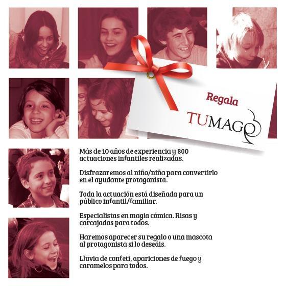 Flier eventos infantiles 2013! www.tumago.com