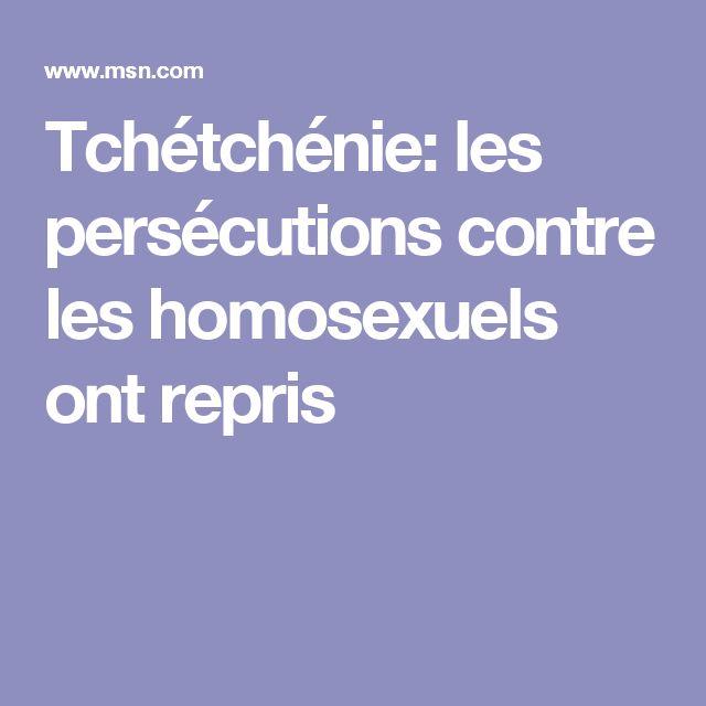 Tchétchénie: les persécutions contre les homosexuels ont repris