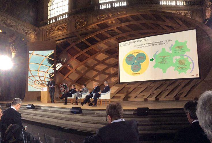Sergio Rossi: effetti di Expo sul sistema economico. 2012-2020 191mila posti di lavoro in più #italia2015 #raiexpo #expoidee #expo2015 #italia #worldfair #firenze