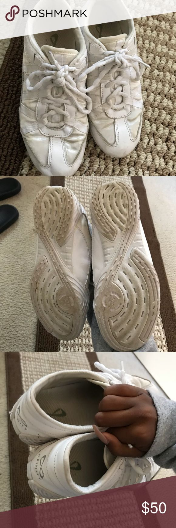 Nfinity Cheer Shoes Worn a few times, really good condition. NFINITY Shoes Sneakers