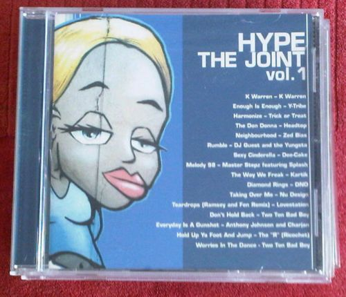 Uk garage mixed cd hype the joint vol 1 k warren y tribe zed bias