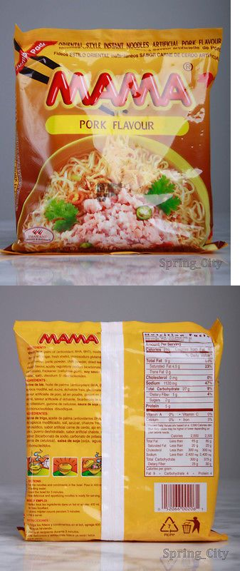 International Foods 43401: Mama Pork Flavor (20 Pack) - Jumbo Bag Ramen Noodles - Us Seller Free Shipping -> BUY IT NOW ONLY: $41.95 on eBay!