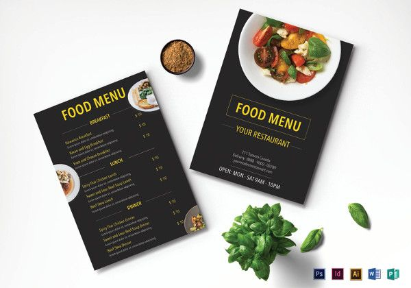 modern-restaurant-menu-template BB Cafe Pinterest Restaurant - restaurant menu design templates