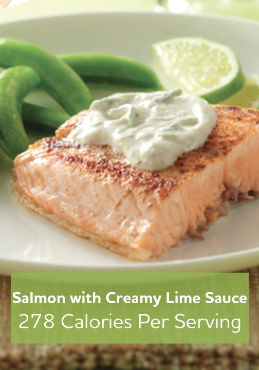 salmon with creamy lime sauce healthy fish recipes salmon recipes ...