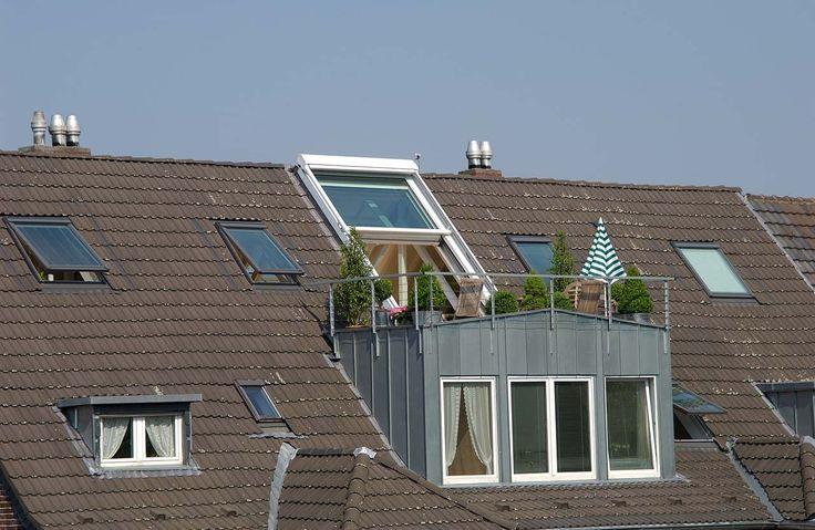 15 besten dachbalkon bilder auf pinterest balkon dachausbau und dachgauben. Black Bedroom Furniture Sets. Home Design Ideas