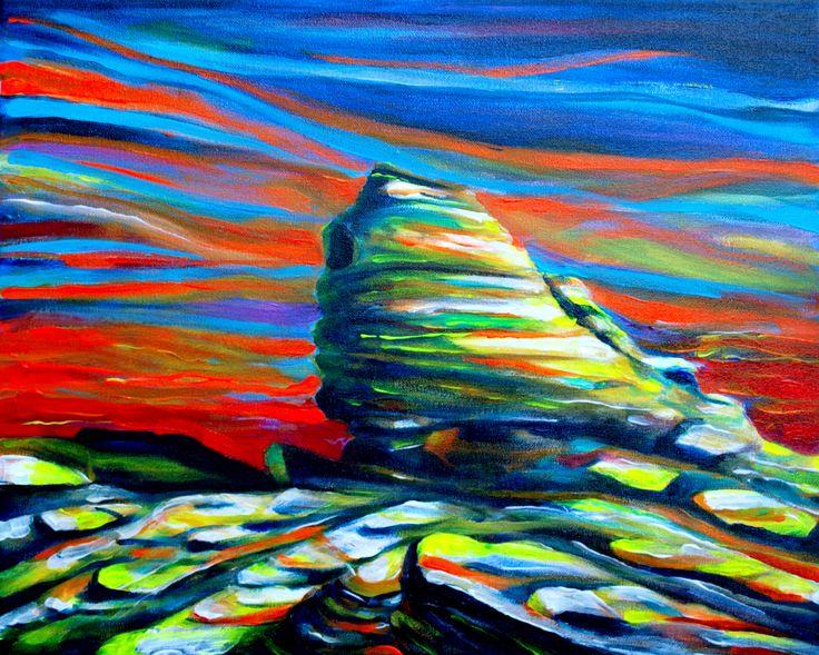 he Sphinx - Bucegi Carpathian Mountains, Romania (50 cm x 40 cm)