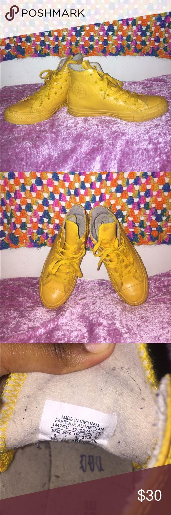 Rain boot Converse Wild honey color converse / size US men's 5 / women's 7 Converse Shoes Sneakers