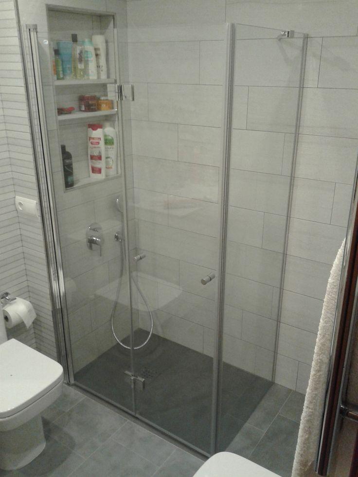 M s de 25 ideas incre bles sobre puertas de ducha de for Armario ducha