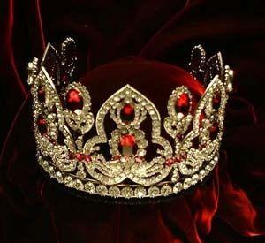 Empress Josephine Tiara | Empress Josephine of France Ruby Diamond Tiara | Rubies