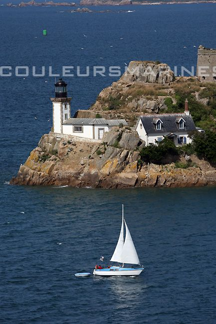 Photos, Bretagne, Phare, Carantec, Photos de la Bretagne, Erik Brin, Photographe de mer, Photos de mer at Erik Brin – Photographe de mer