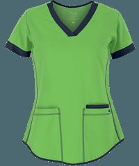 Barco NRG Scrubs STRETCH Junior Fit 3 Pocket Top