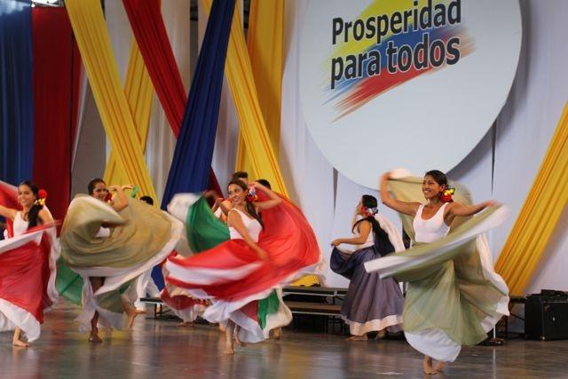 Celebrando Notas de la Independencia.  Crédito Miltón Ramírez/MinCultura 2012