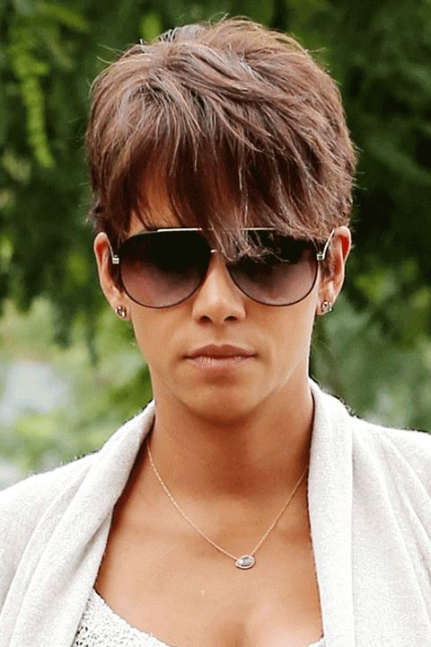 Halle Berry S Short Hairstyles Kurzhaarfrisuren Damen