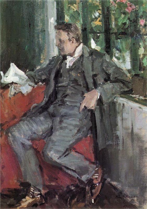 Portrait of Feodor Chaliapin, 1905  Konstantin Korovin