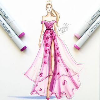 On Wednesdays we draw pink -- Holly Nichols Illustration
