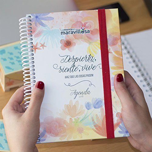 La Mente es Maravillosa | Agenda anual 2018 semana vista | Diseño floral con frases motivacionales | Espiral de gran calidad y tapa dura | Organizador y planificador personal | Con pegatinas divertidas | Con papel grueso | Perfecto para anotar las ideas, pensamientos, tareas o infomación que te importa | Flores #Mente #Maravillosa #Agenda #anual #semana #vista #Diseño #floral #frases #motivacionales #Espiral #gran #calidad #tapa #dura #Organizador #planificador #personal #pegatinas…
