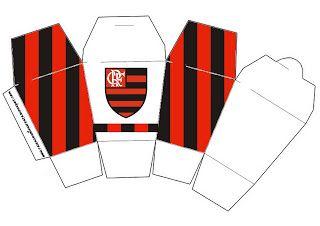 Flamengo Kit Completo Com Molduras Para Convites Rótulos Para