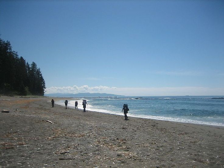 Hiking the West Coast Trail, Vancouver Island, British Columbia, Canada