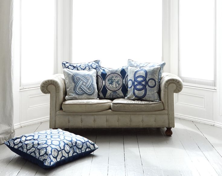 The blue eko eclipse cushions by eva sonaike evasonaike cushions africaninteriors africandeign