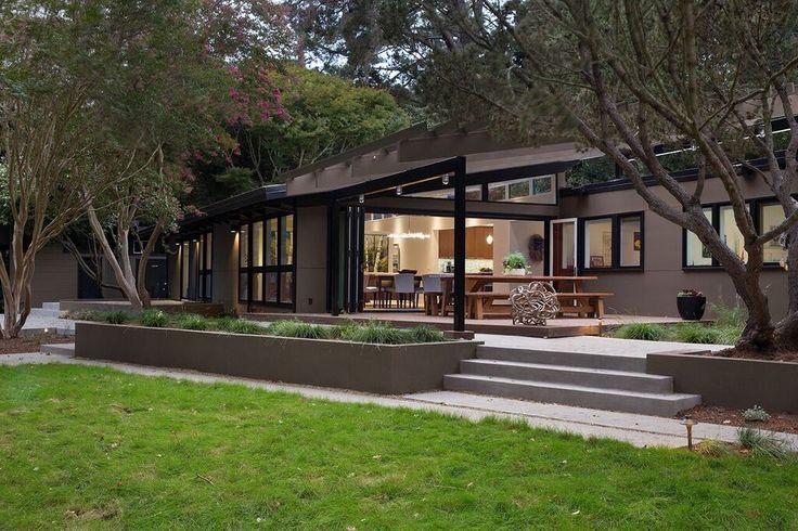 Luminous mid-century modern transformation in California