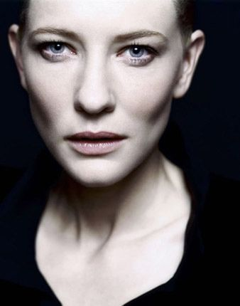 """If you know you are going to fail, then fail gloriously.""  Cate Blanchett"
