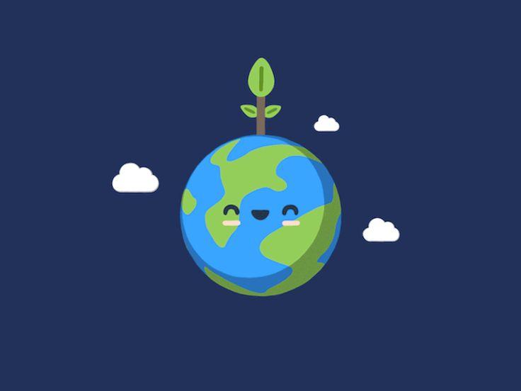 Earth Day by EJ Hassenfratz #Design Popular #Dribbble #shots