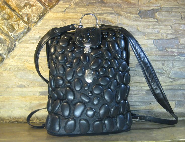 """leather backpack """"Lizard"""" by MABTESS on Etsy"""